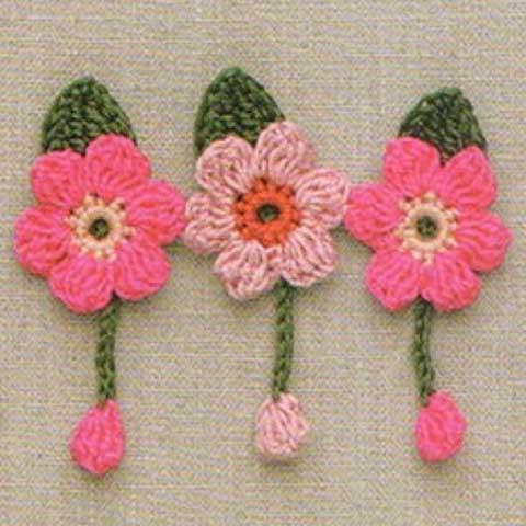 Mnoštvo šema za heklanje ovih dekorativnih cveti ća možete