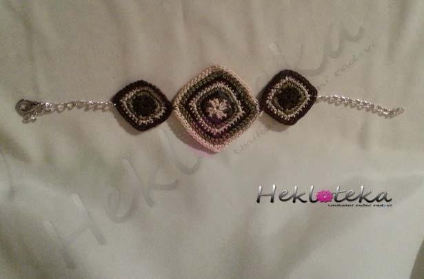 Jewelry sets : Heklani nakit - komplet 002